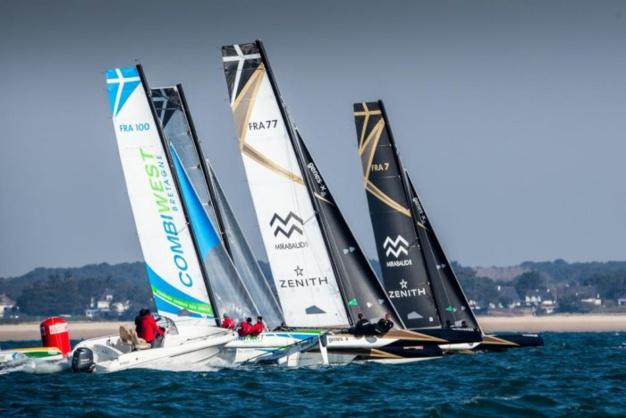 Zenith et Spi Ouest-France : victoire du Spindrift Racing en Diam 24