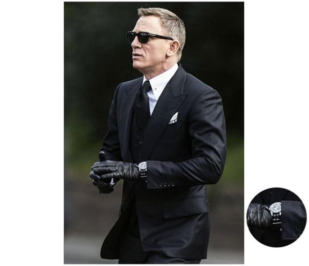 Spectre : Daniel Craig porte une Omega Seamaster Planet Ocean 300