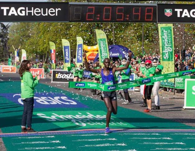 Le Marathon de Paris à l'heure TAG Heuer