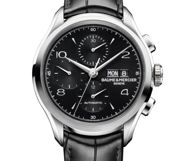 Baume et Mercier chronographe Clifton : come-back du black