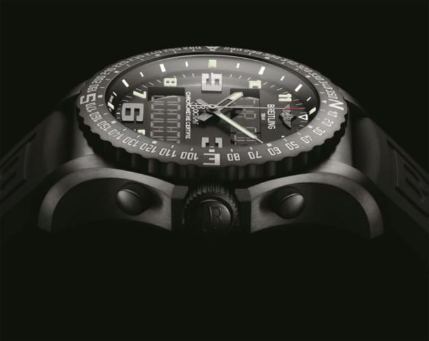 Breitling : présentation de la B50 dans sa boutique parisienne