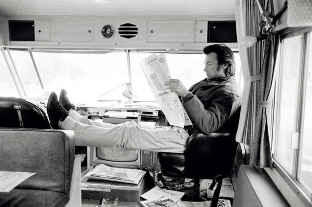 Clint Eastwood on Joe Kidd. 1972. ©TerryO'Neill