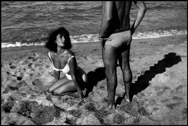 Elizabeth Taylor on Suddenly Last Summer. © Burt Glinn .Magnum