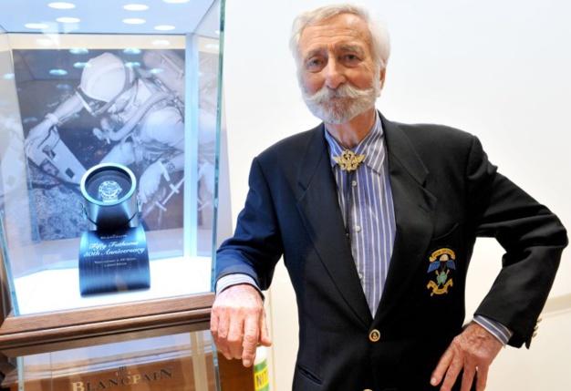 Adieu Bob Maloubier : l'homme de la Fifty Fathoms