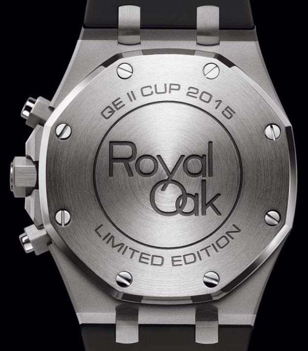 Audemars Piguet Chronographe Royal Oak QEII Cup : série limitée 200 ex.