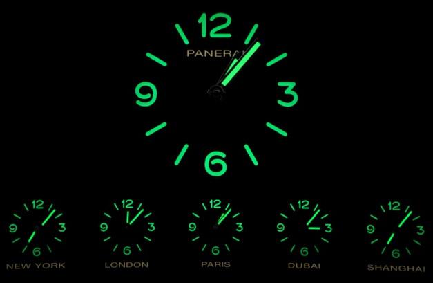 Horloge Panerai, expo universelle de Milan
