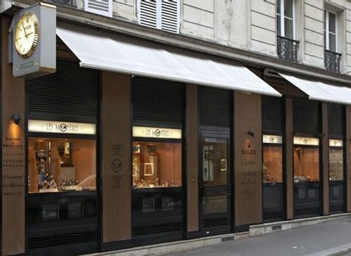 Les Montres : deux boutiques à Paris pour les « toqués de tocantes » !