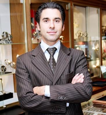 Arnaud Lassaussois de la boutique Les Montres à Paris