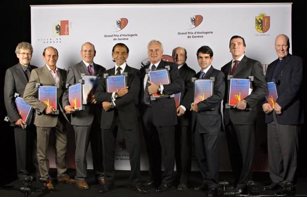 Lauréats du Grand Prix d'Horlogerie de Genève - Edition 2007