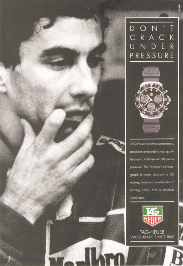 TAG Heuer : S comme Senna