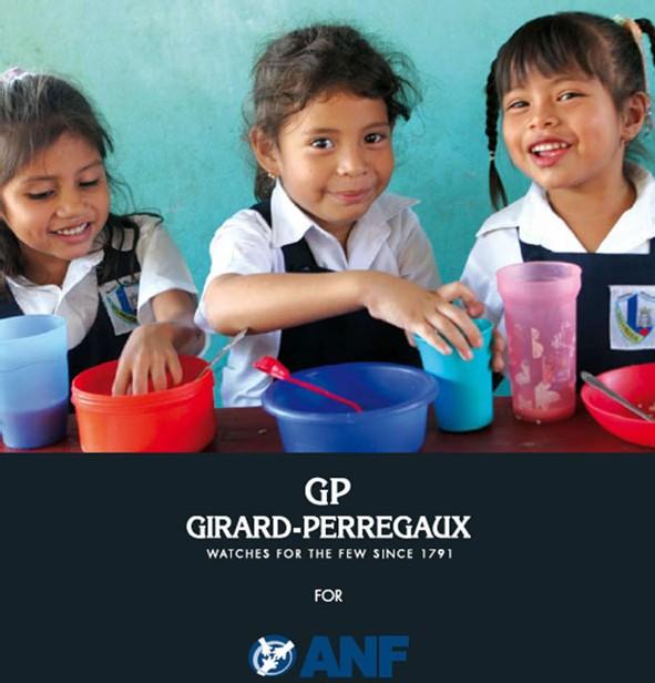 Girard-Perregaux : un quantième perpétuel pour l'American Nicaraguan Foundation