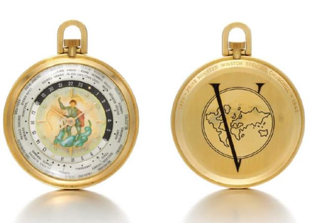 La montre de la Victoire de Sir Winston Churchill by Louis Cottier