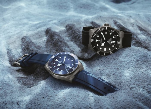 """Tudor Pelagos : nouveau modèle calibre """"manuf"""" et cadran bleu"""