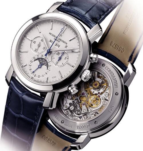 Vacheron Constantin poursuit dans sa collection Excellence Platine avec deux nouveaux modèles en 2007