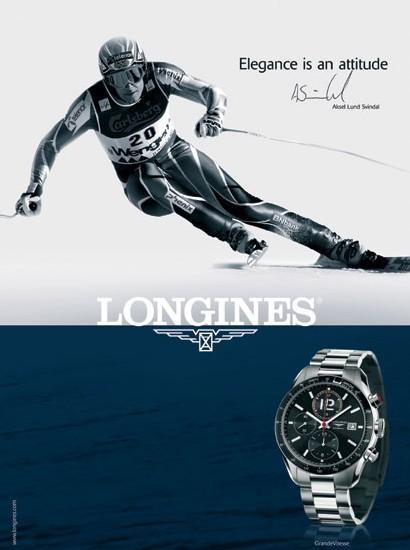 Longines chronométreur officiel de la Coupe du monde de ski alpin 2007/2008
