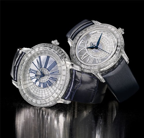 Collection Millenary diamants baguette : un couple de star chez Audemars Piguet