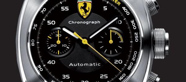 Ferrari Scuderia by Officine Panerai présente un chronographe chronomètre de 40 mm