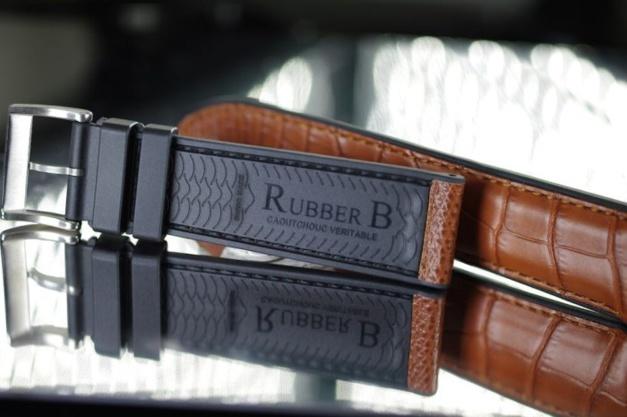 RubberB Structure Series : quand le caoutchouc se pare de cuir...