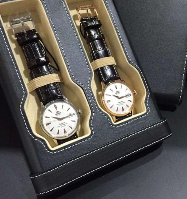 Orient Bambino : série limitée de 500 coffrets de deux montres pour les 50 ans de Singapour