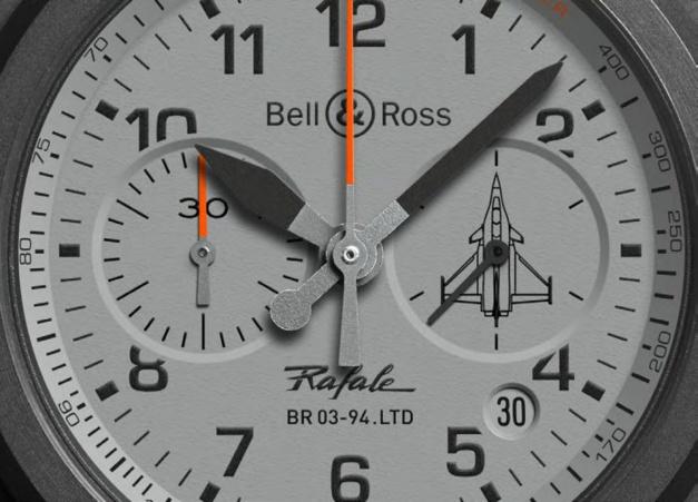 Bell & Ross BR 03 Rafale : chrono furtif en vue !