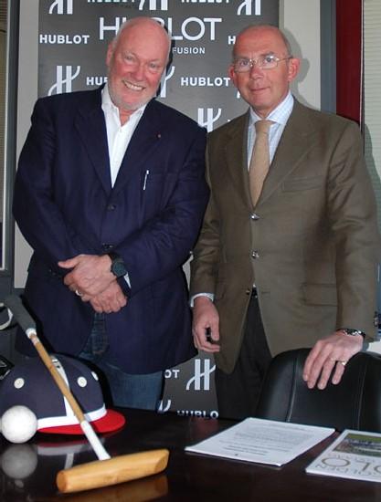 Hublot devient sponsor de la Polo Gold Cup qui se tient tous les ans à Gstaad