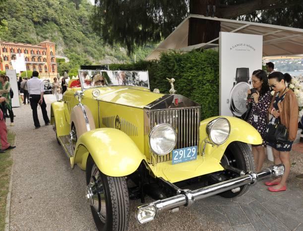 Ce roadster Rolls-Royce Phantom I de 1929 ne passe pas inaperçu