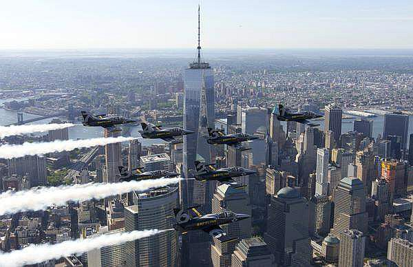 Jet Team Breitling sur New York
