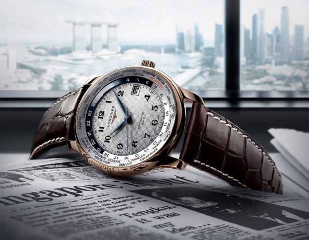 Longines Master Collection GMT World Wide Singapore