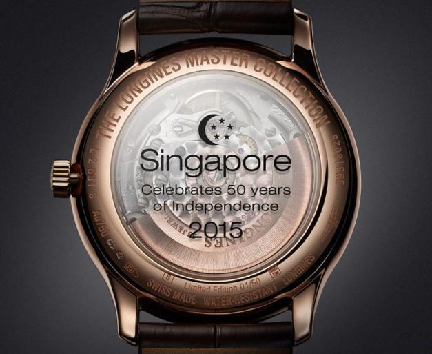 Longines célèbre les 50 ans de Singapour en beauté !
