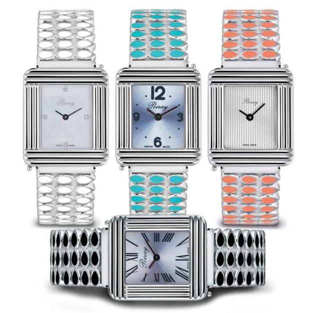 Poiray : lancement du premier bracelet de montre en acier coloré