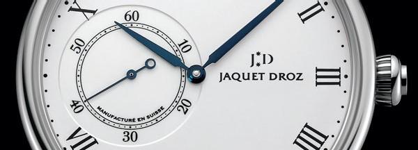 Grande Heure Minute : une première collection en acier pour Jaquet Droz