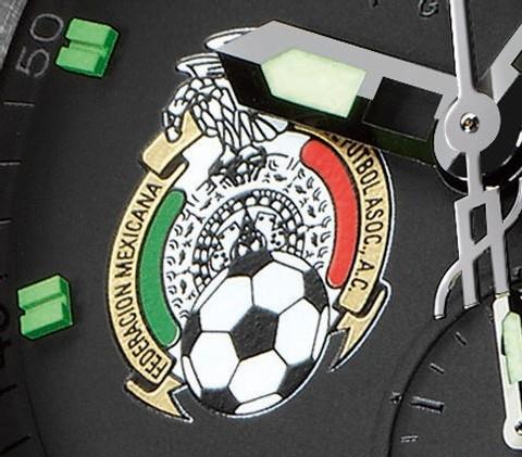 Une Hublot Big Bang pour la Fédération Mexicaine de Football : Suisse-Mexique 1:1