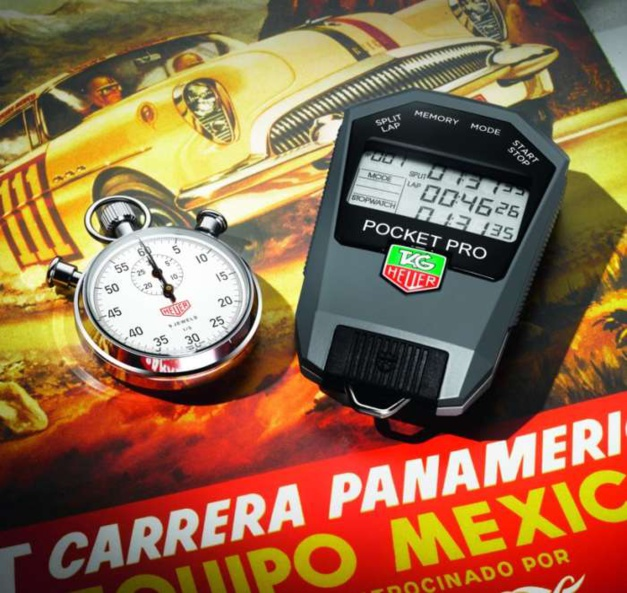 TAG Heuer : à l'heure mexicaine avec la Carrera Panamericana