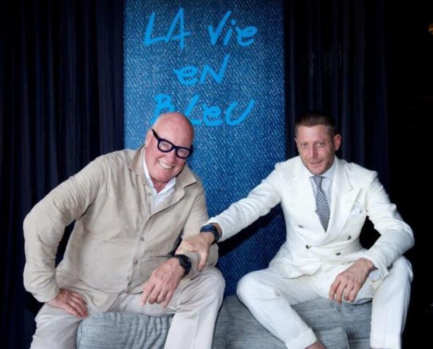 Jean-Claude Biver et Lapo Elkann