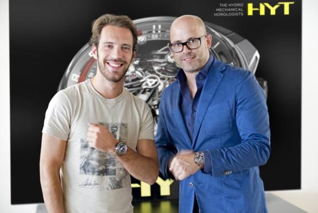 Jean-Eric Vergne et Vincent Perriard