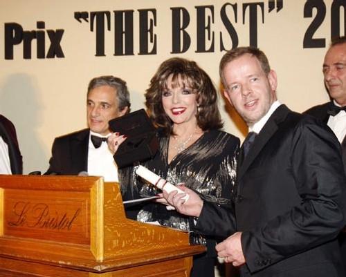 Romain Jerome partenaire officiel de la 31ème édition des prix « the Best 2007 »