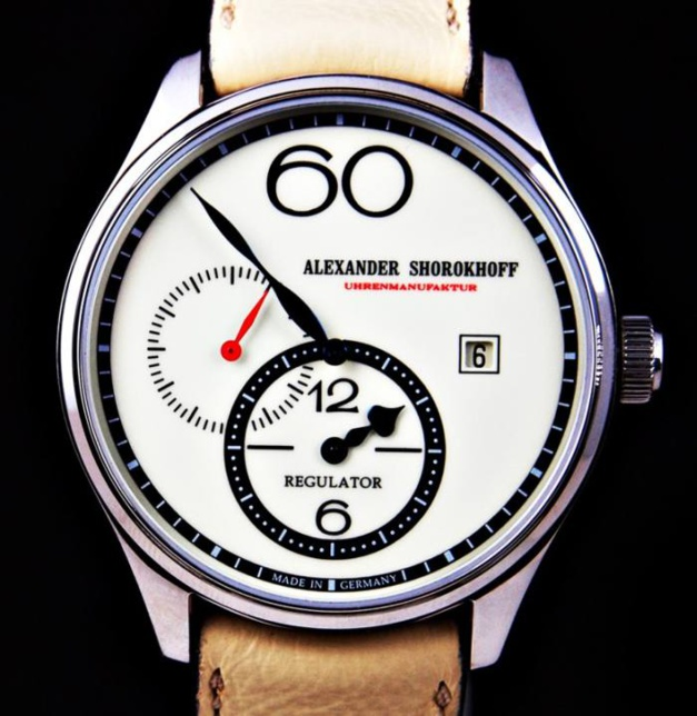 Alexander Shorokhoff Regulator chez Red Army Watches