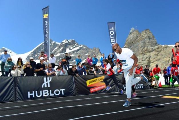Hublot : un 100 mètres à 3.454 mètres d'altitude