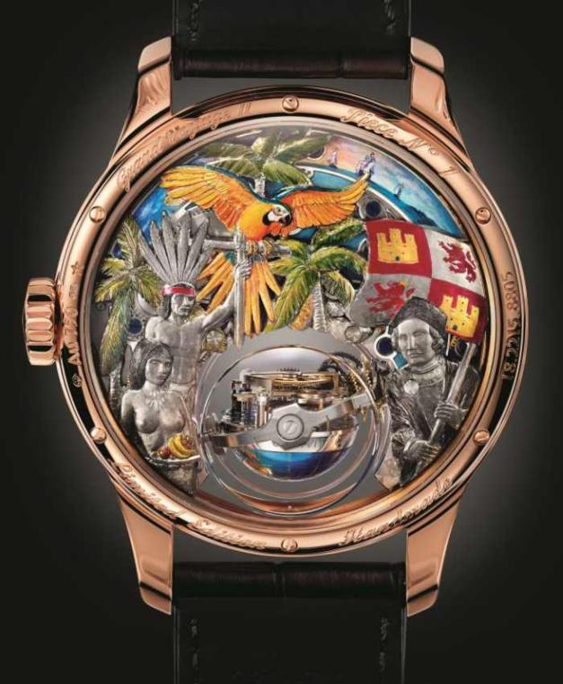 Bucherer : la Zenith Christophe Colomb Hurrican Grand Voyage II en exclu