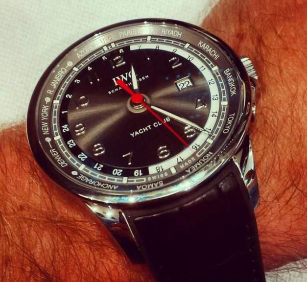IWC : des montres à l'heure