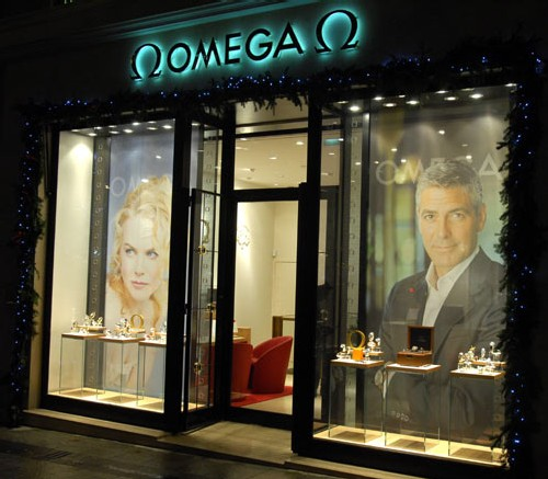 Boutique Omega à Paris
