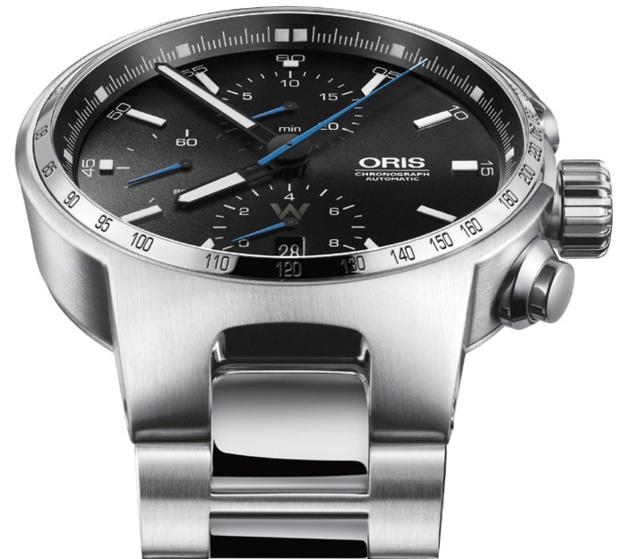 Oris Valterri Bottas : chrono design