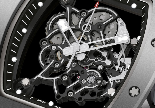 Richard Mille RM 055 Bubba Watson All Grey Boutique Edition : fifty shades of grey