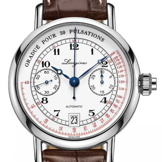 The Longines Pulsometer Chronograph