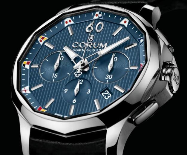 Corum Admiral's Cup Legend 42 Chrono : la mère des montres de marins