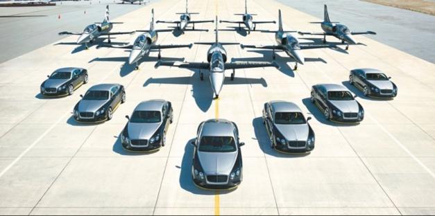 Breitling : sept bolides, sept jets et sept chronos