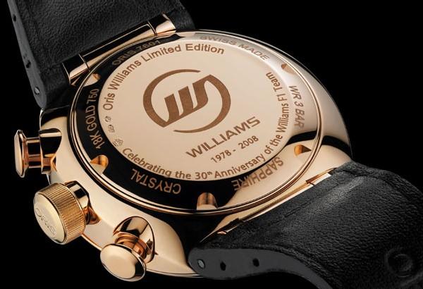 Oris et Williams F1 prolonge leur partenariat jusqu'en 2010