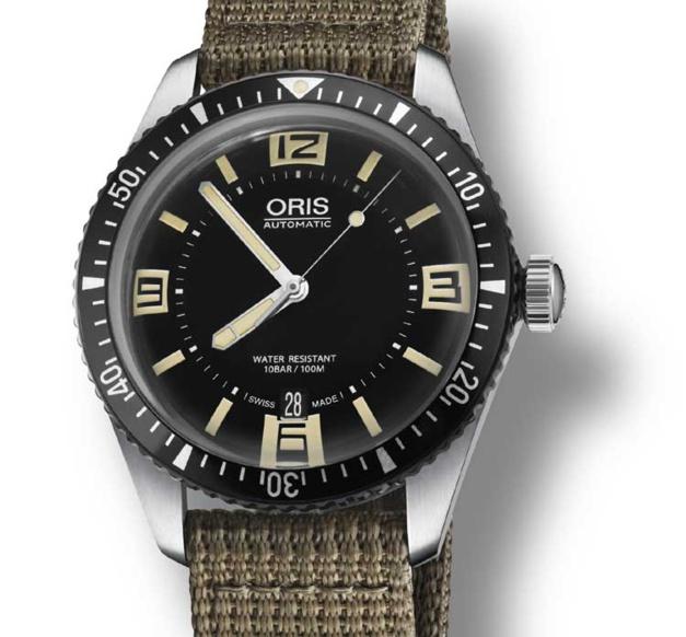 Oris Diver Sixty-Five : belle plongée dans le vintage...