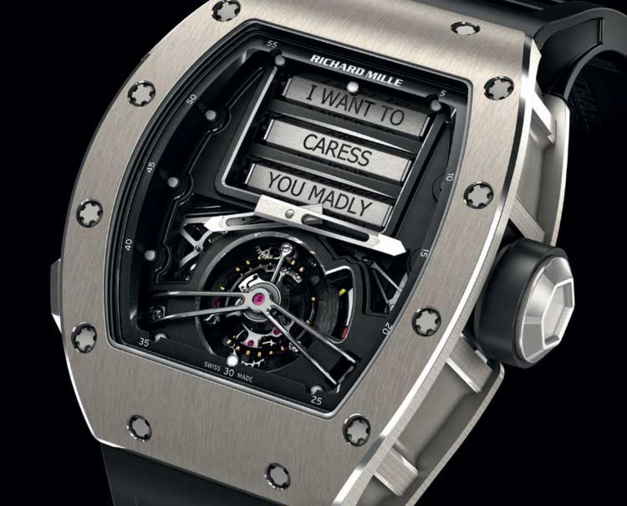 Richard Mille Tourbillon RM 69 Erotique