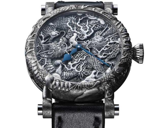 Speake-Marin Kennin-Ji Temple Masters Project : oeuvre d'art horlogère